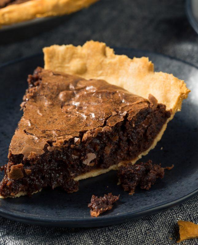 Homemade Chocolate Brownie PIe